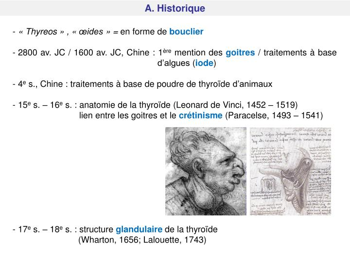 A. Historique
