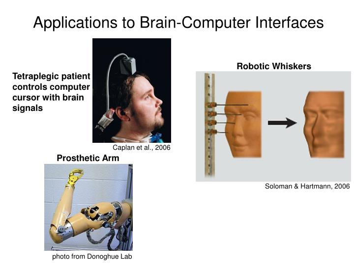 Applications to Brain-Computer Interfaces