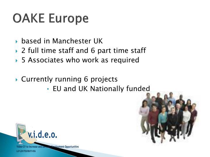 OAKE Europe
