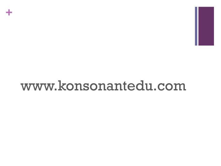 www.konsonantedu.com