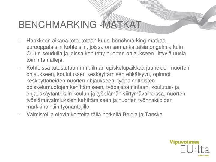 BENCHMARKING -MATKAT