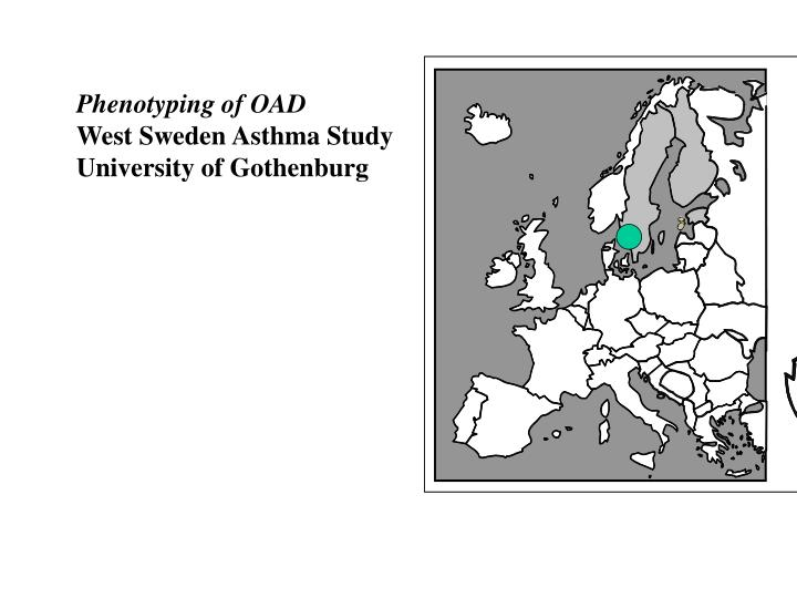 Phenotyping of OAD