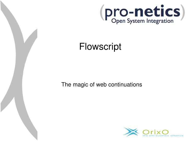 Flowscript