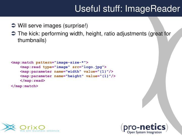 Useful stuff: ImageReader