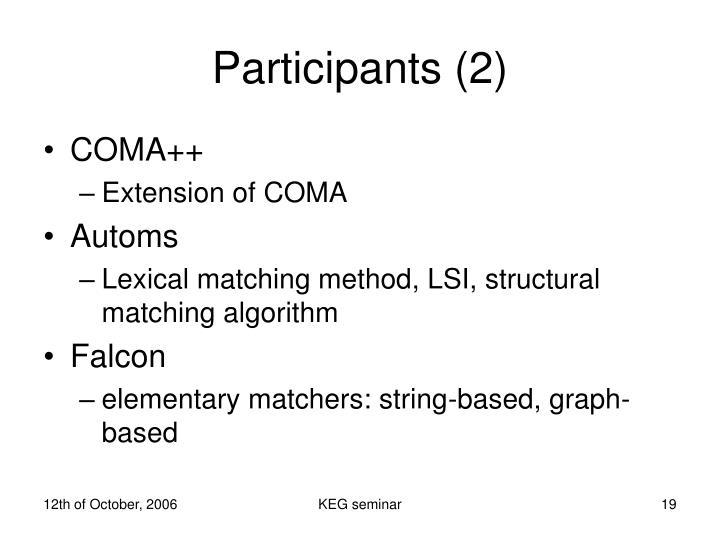 Participants (2)