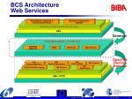 bcs architecture web services