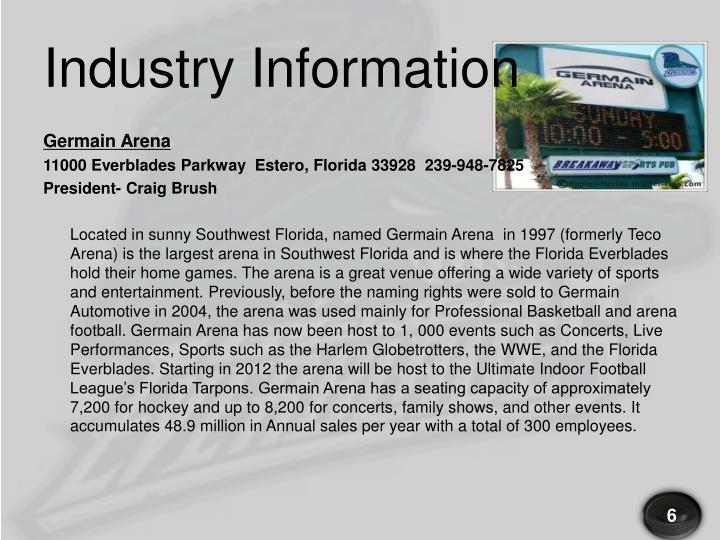 Industry Information