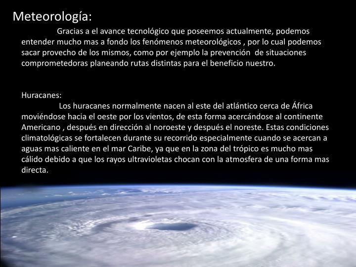 Meteorología: