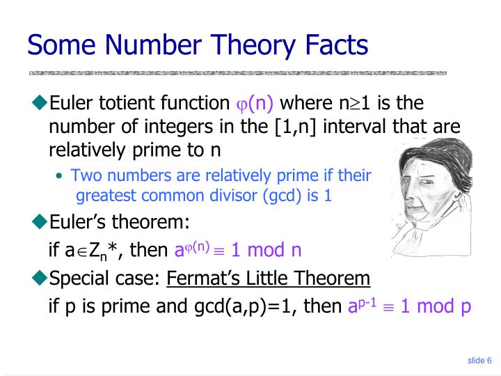 Some Number Theory Facts