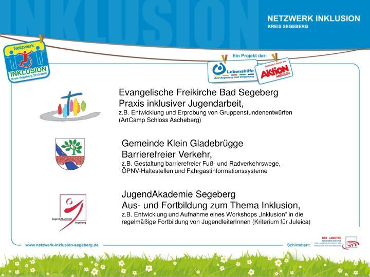 Evangelische Freikirche Bad Segeberg