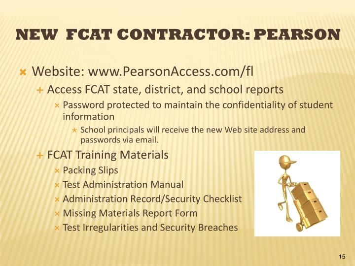 Website: www.PearsonAccess.com/fl