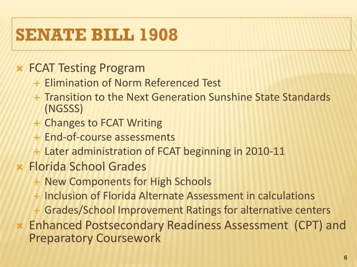 FCAT Testing Program