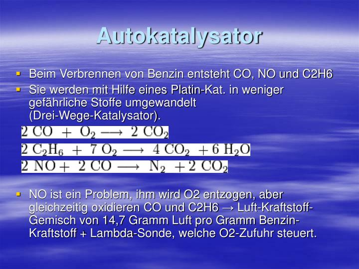 Autokatalysator