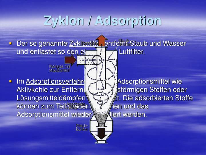 Zyklon / Adsorption