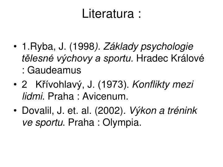 Literatura :
