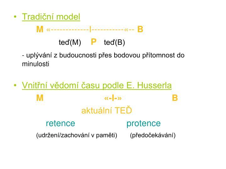 Tradiční model