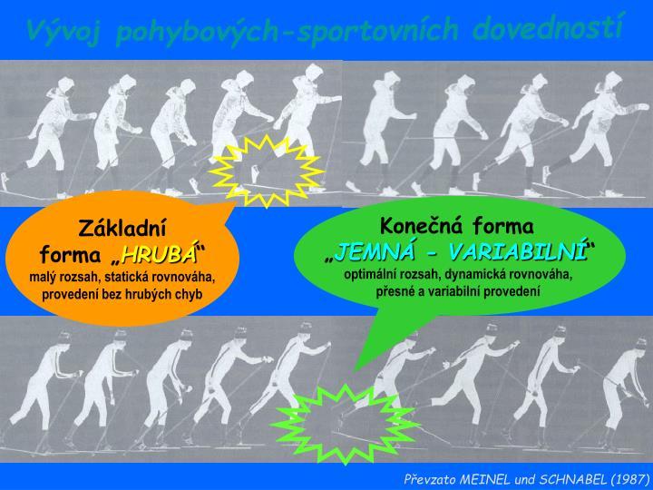 Vývoj pohybových-sportovních dovedností