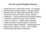 v znam psychologick p pravy
