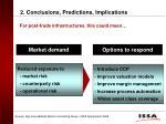 2 conclusions predictions implications