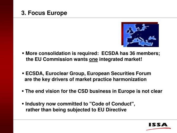 3. Focus Europe