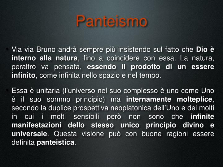Panteismo