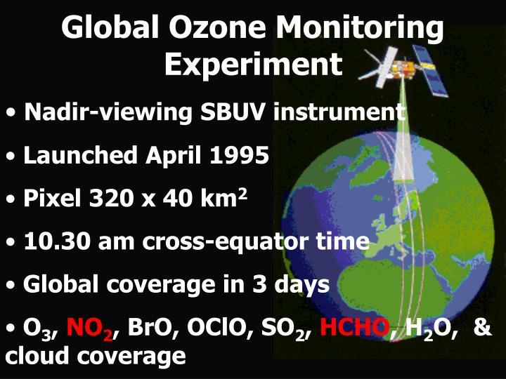 Global Ozone Monitoring Experiment