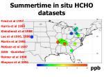 summertime in situ hcho datasets1