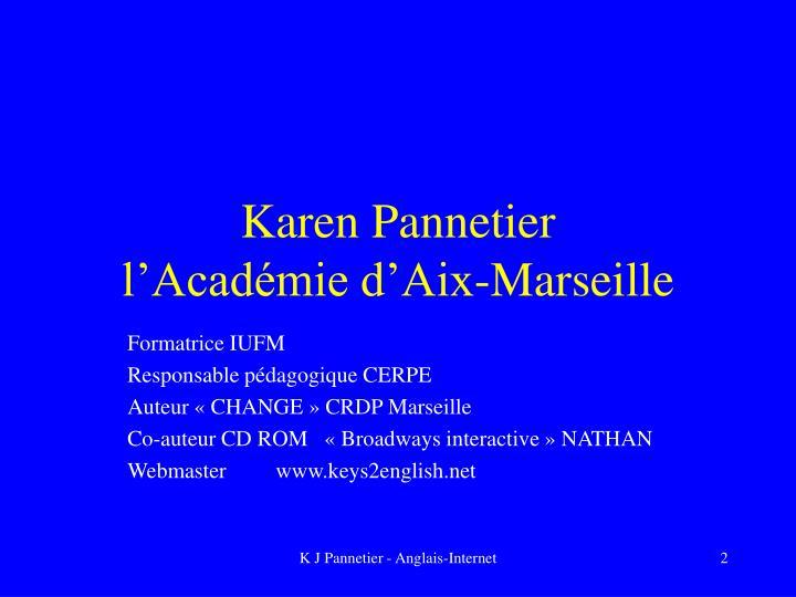 Karen Pannetier