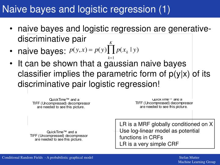 Naive bayes and logistic regression (1)