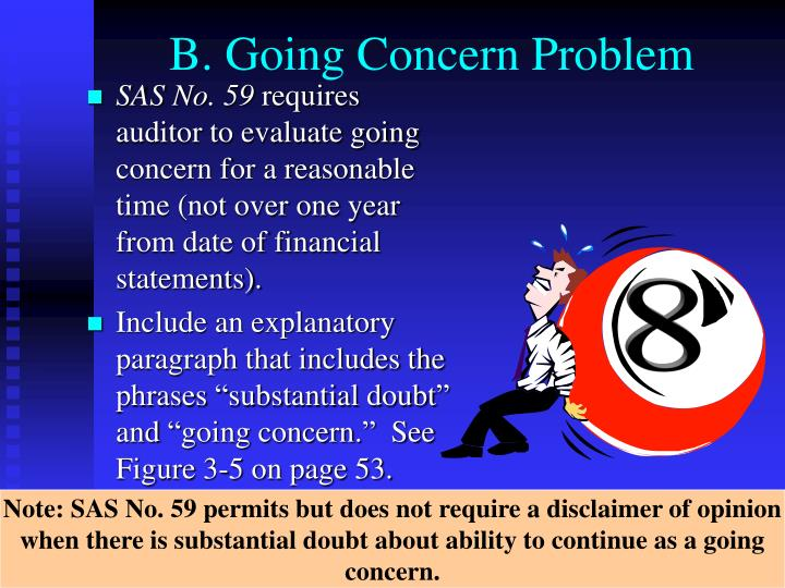 B. Going Concern Problem