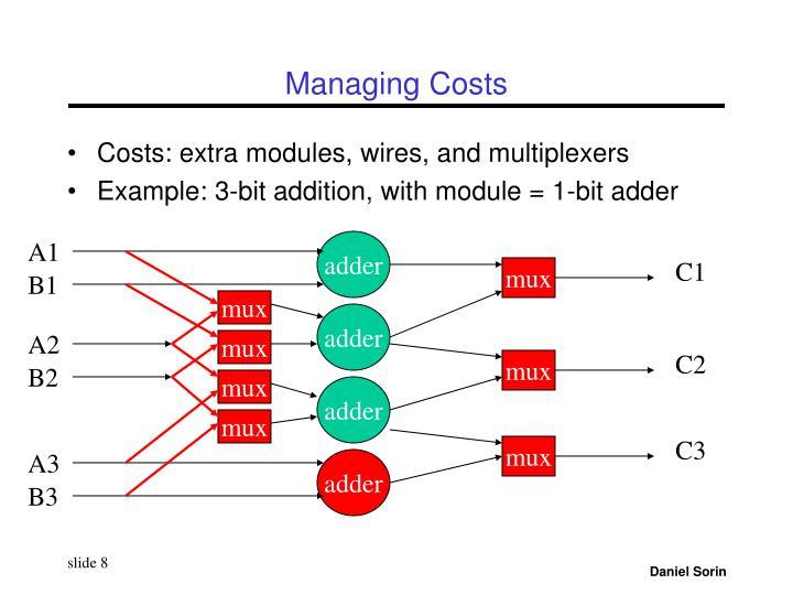 Managing Costs
