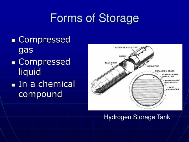 Forms of Storage