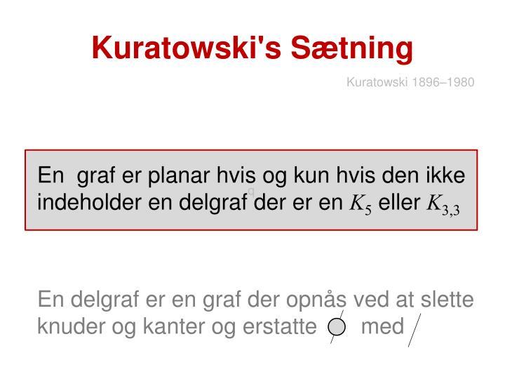 Kuratowski's