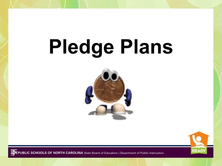 Pledge Plans