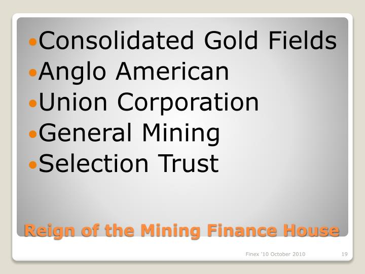 Consolidated Gold Fields