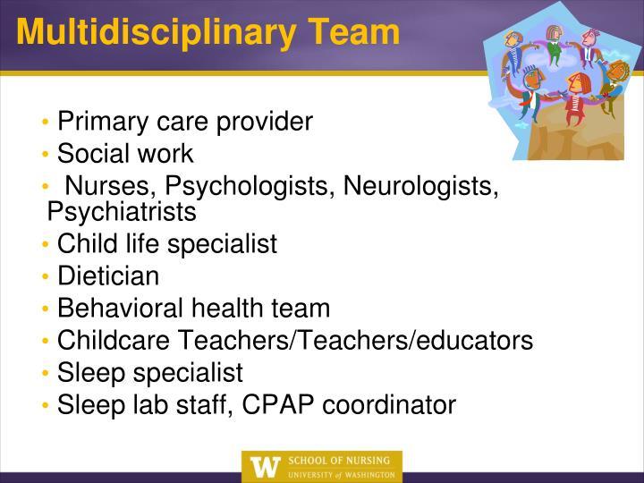 Primary care provider