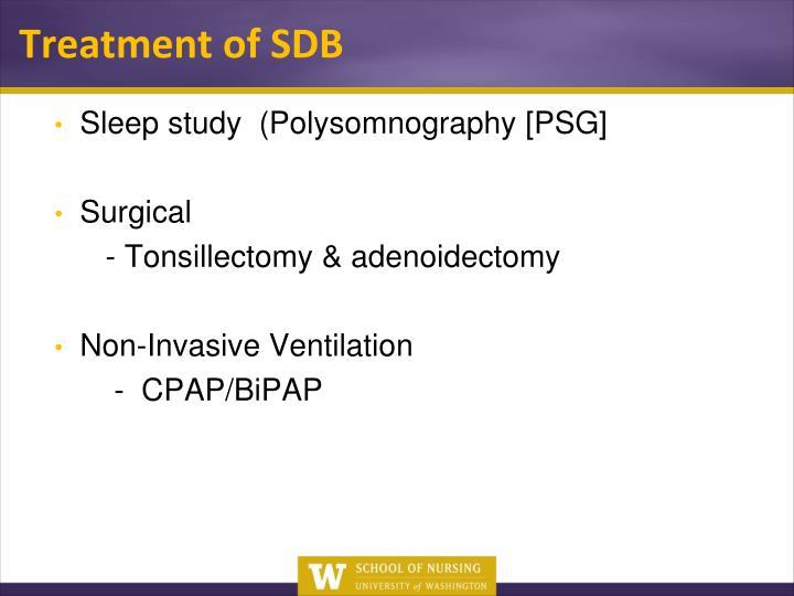 Sleep study  (
