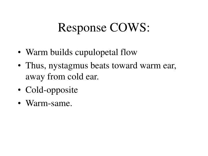 Response COWS: