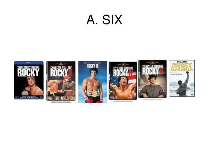 A. SIX