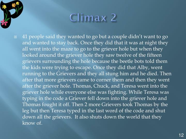 Climax 2