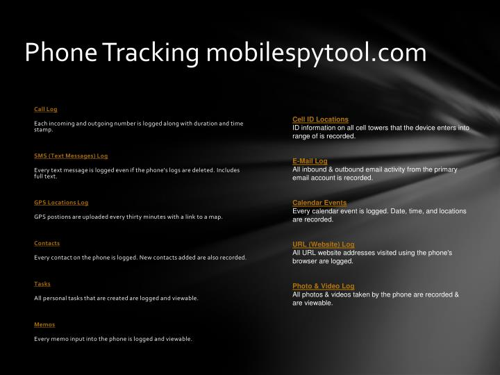 Phone Tracking mobilespytool.com