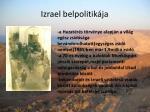 izrael belpolitik ja