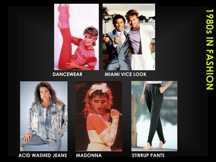1980s IN FASHION