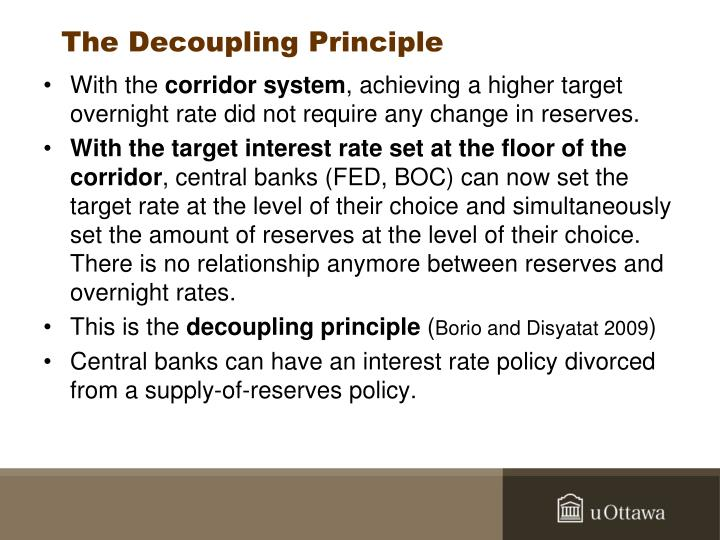 The Decoupling Principle
