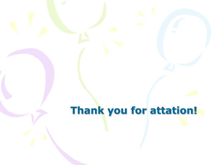 Thank you for