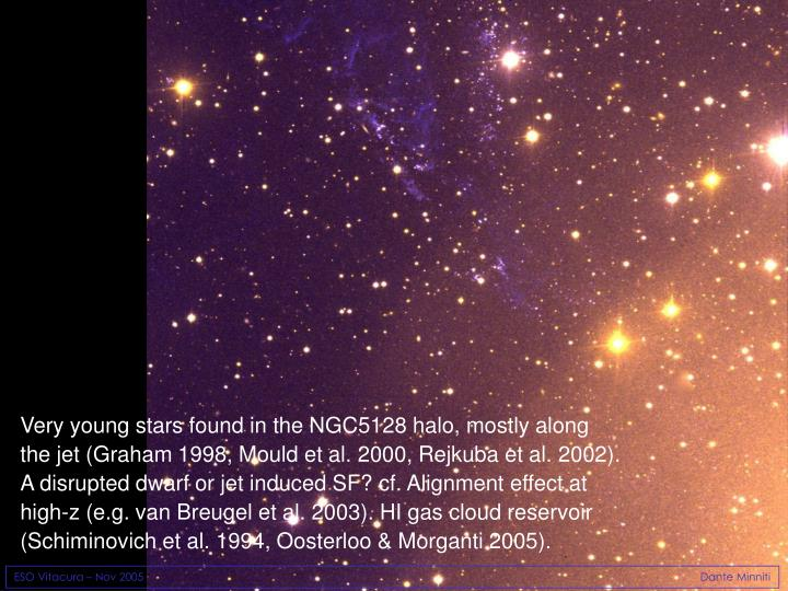 Very young stars found