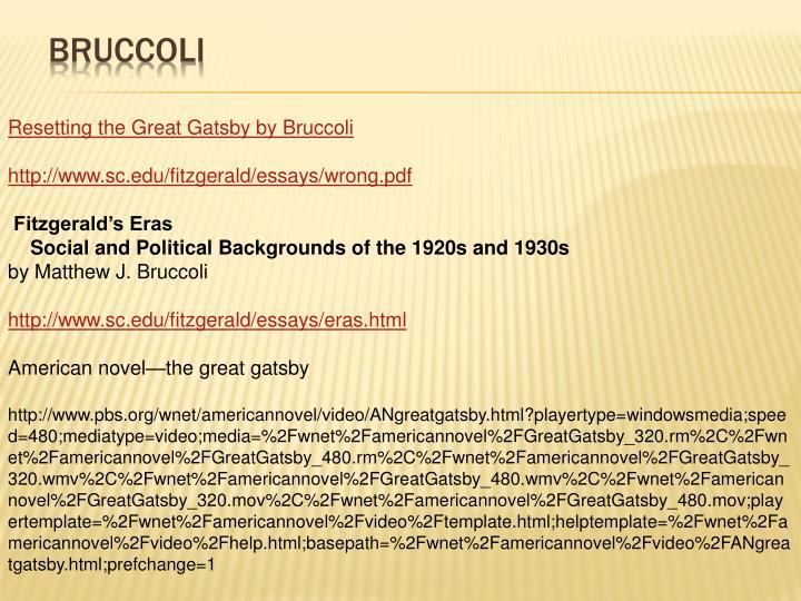 Bruccoli