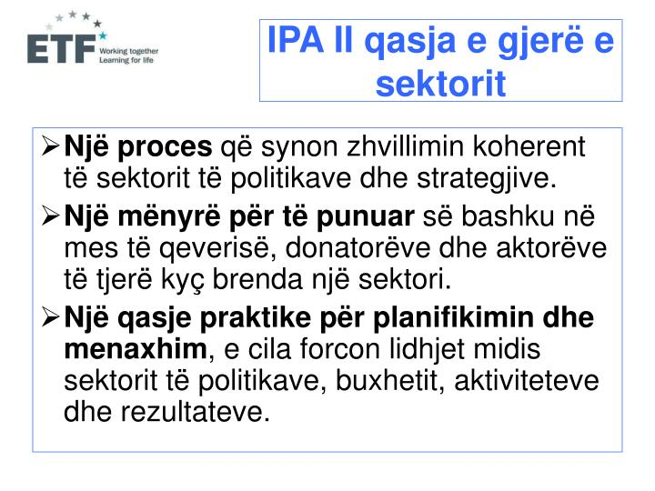 IPA II