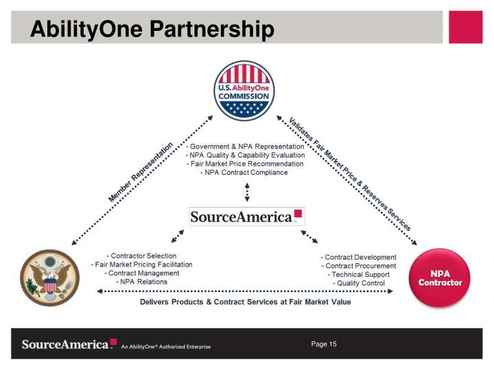 AbilityOne Partnership