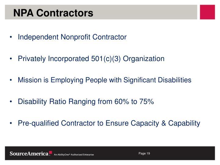 NPA Contractors
